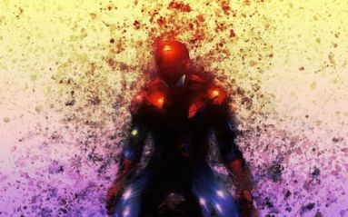 infinity war - Spiderman death