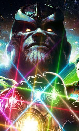 infinity war - Thanos e guanto del potere