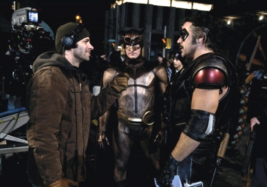 Zack Snyder sul set di Watchmen.jpg