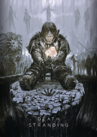 Death Stranding BB artwork
