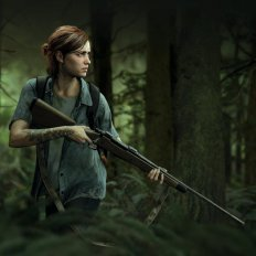 the last of us 2 Ellie nel bosco
