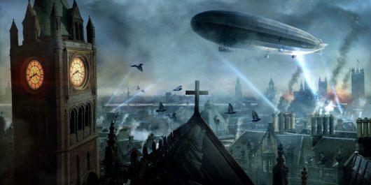 1917 - Zeppelin su Londra